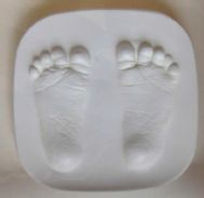 baby footprint gift