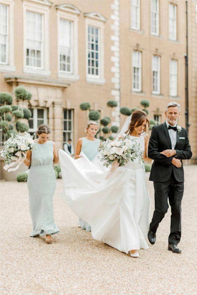 Aynhoe park wedding florist