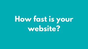 How fast is your website?