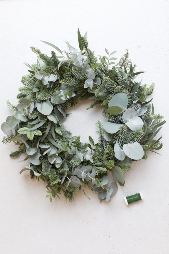 Make your own christmas wreath in Bristol