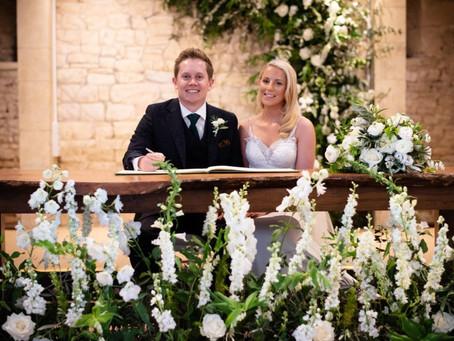The Great Tythe Barn Wedding Flowers
