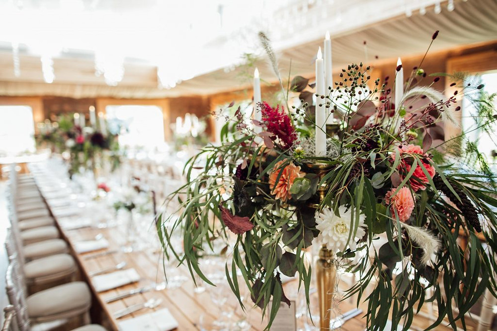 Luxury wedding florist South West