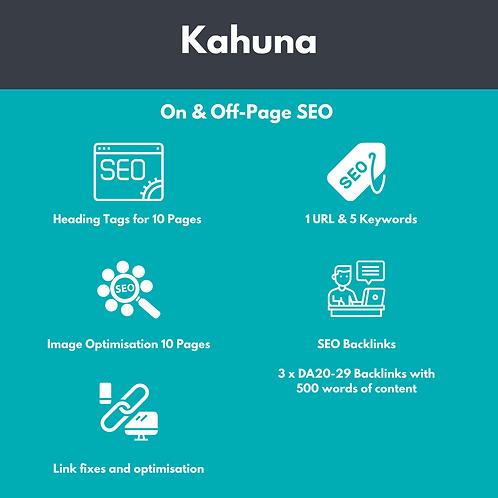 SEO Optimisation - Kahuna