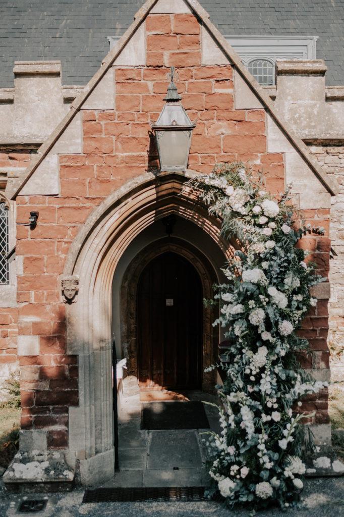 Church floral arch