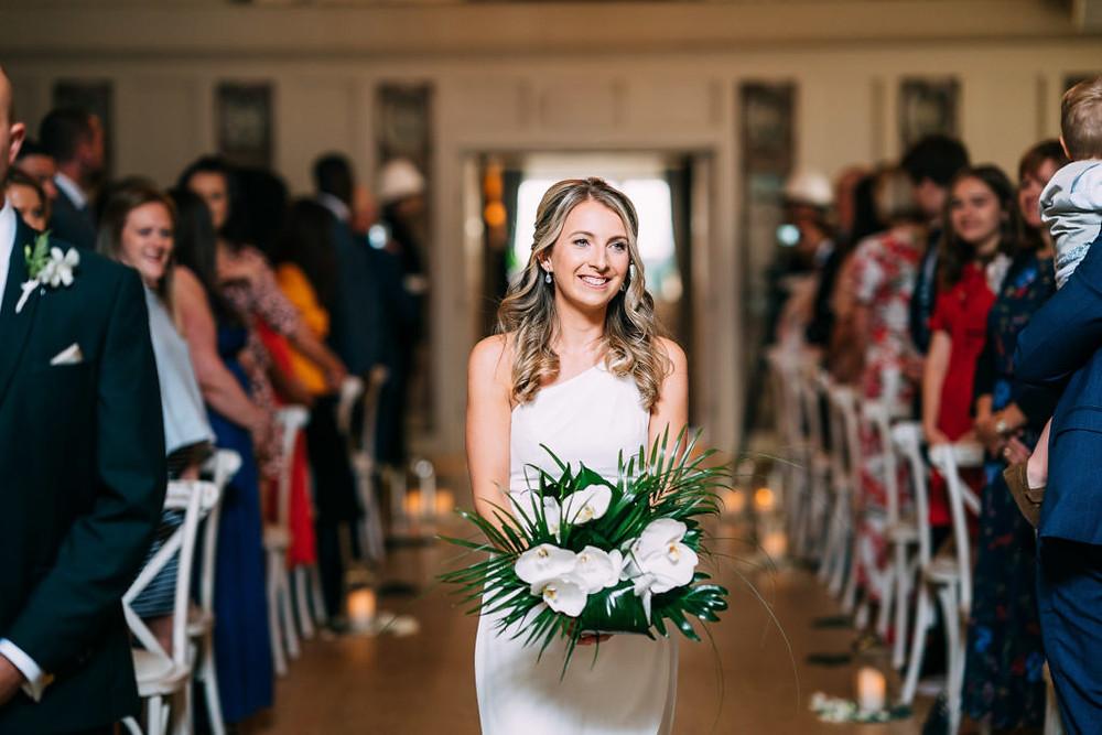 Bridesmaid tropical bouquet