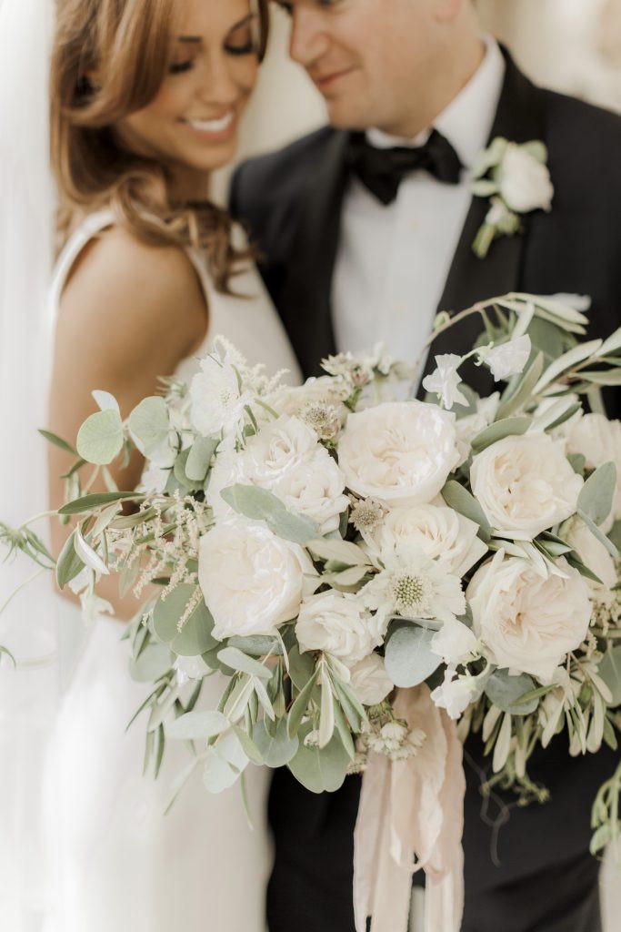Smaller wedding flowers