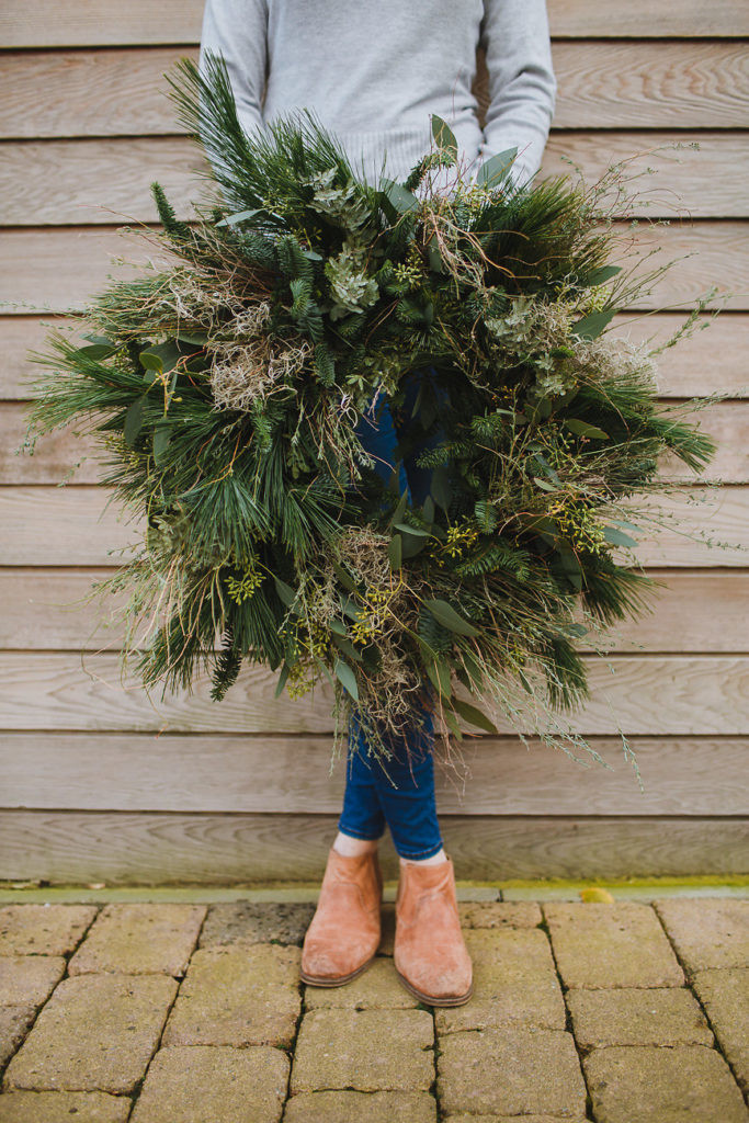 Christmas Wreath delivery Bristol