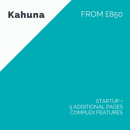 Web Design - Kahuna