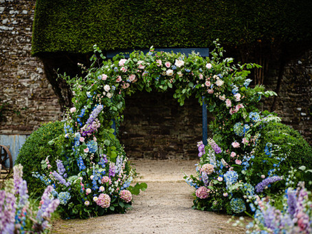 Thornbury Castle Wedding Flowers
