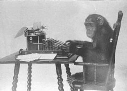 monkey_typing_public_domain