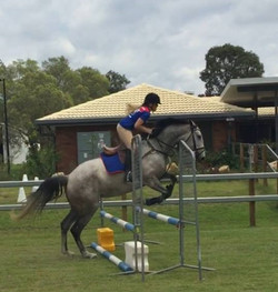 Sophie Peach & Roxy Jumping 1