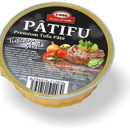 Pâtifu Tuscan Style Premium Tofu Pâté