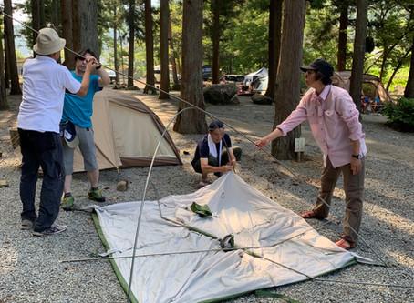 【レポート】テント泊体験と赤岩・今倉山