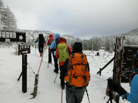 【レポート】北八ヶ岳「北横岳」で雪山入門