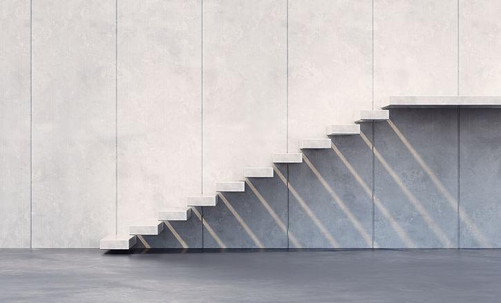簡約的樓梯