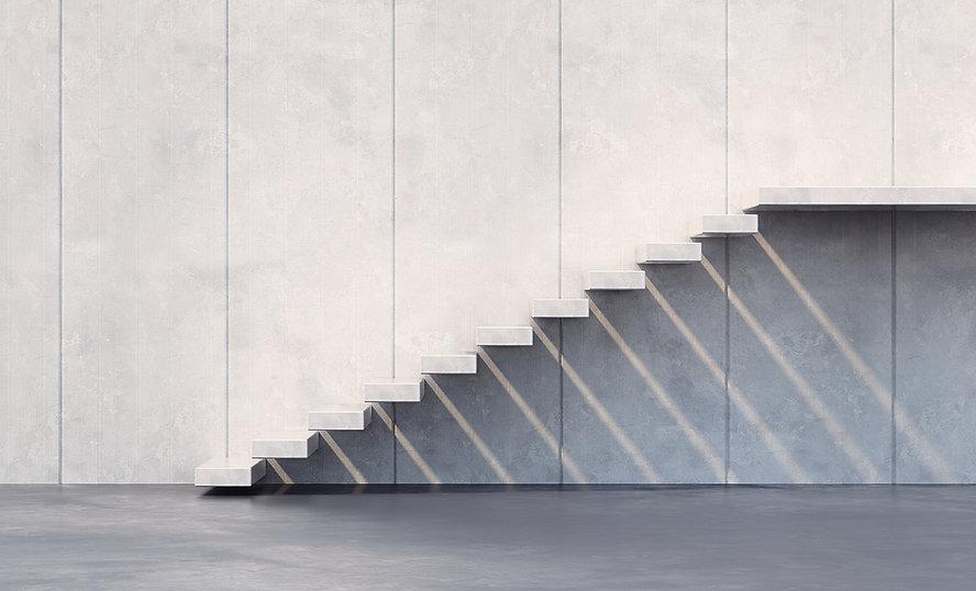 Minimalist Treppe