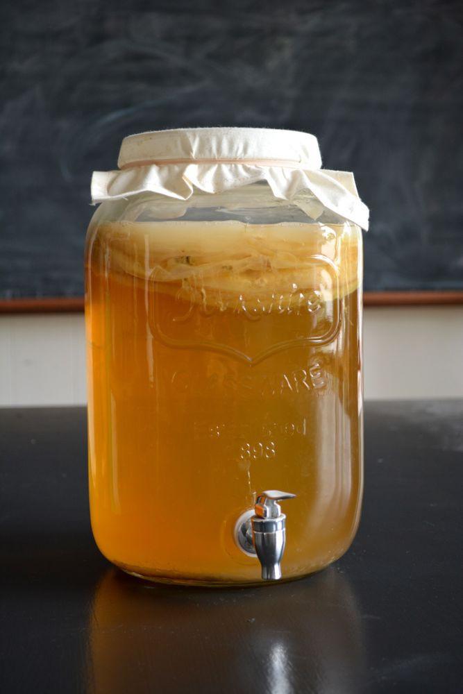Résultats de recherche d'images pour «kombucha making jar»