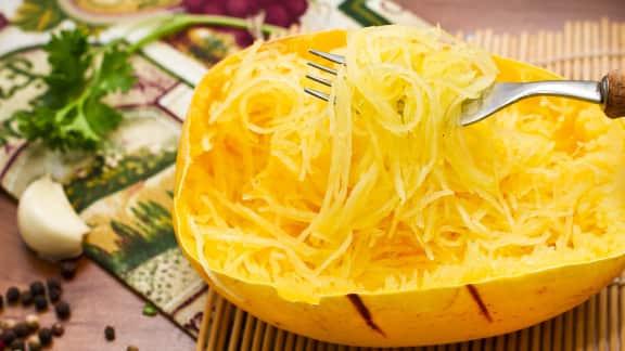Résultats de recherche d'images pour «courge spaghetti»