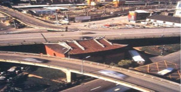 台北府城北門広場再生_1995年以前の写真:高速道路の高架が撤去された前.jpg