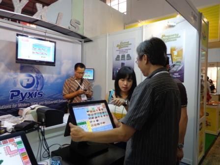 PT. PYXIS ULTIMATE SOLUTION in Jakarta International EXPO at Booth B-4005