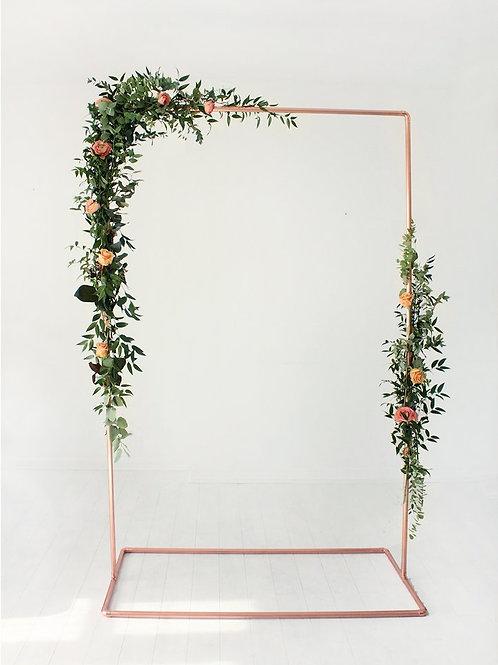 Copper Wedding Frame
