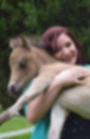 Pony hugs