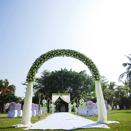 Outdoor Wedding Arch w/ stakes