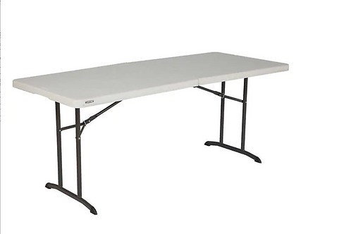 Plastic Rectangular 6' Table
