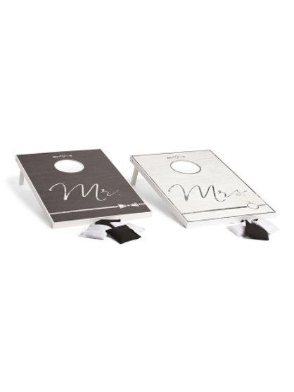 Mr & Mrs Wedding Cornhole Set