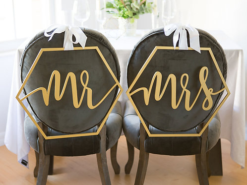 Mr and Mrs Chair Hangers