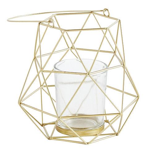 Geometric Mini Tealight Lanterns