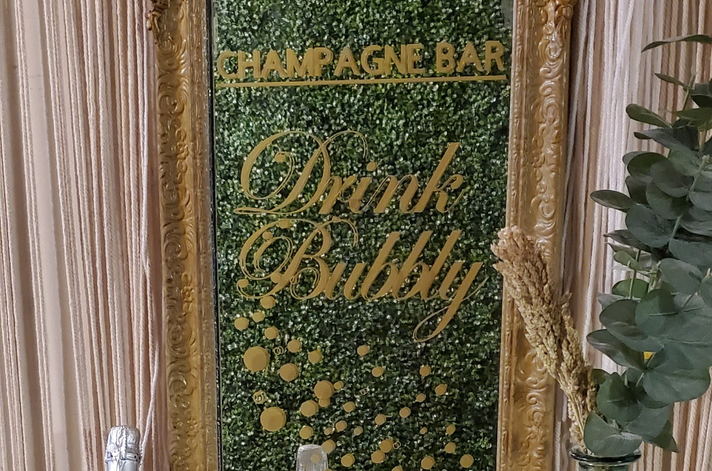 Drink Bubbly Champagne Bar