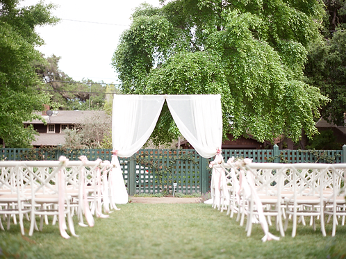 Ceremony Pipe & Drape