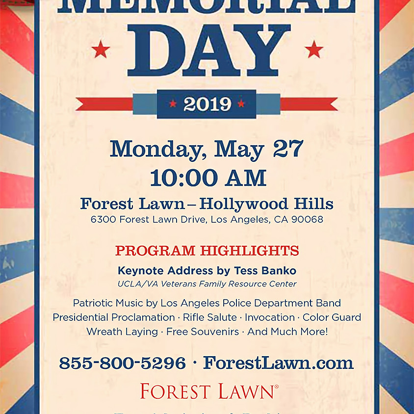 Memorial Day – Hollywood Hills