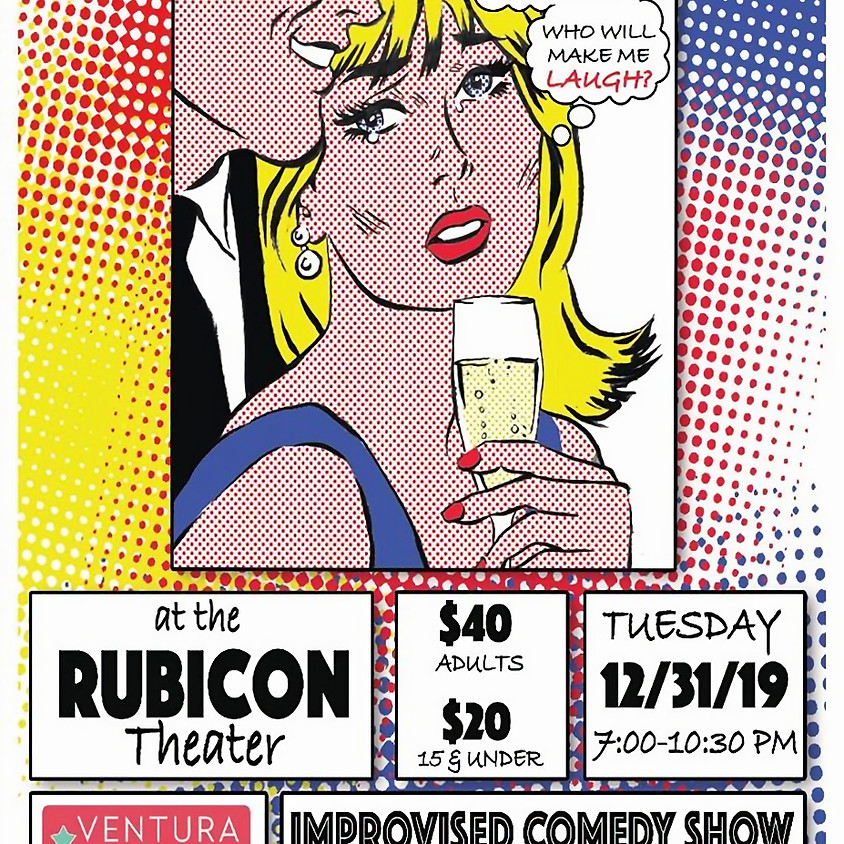 Join us for New Year's Improv at the Rubicon!