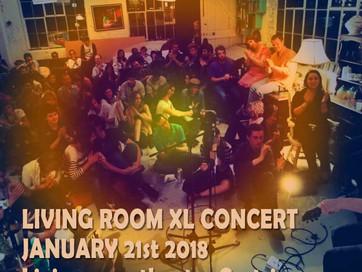 JANUARY 21st 2018: LIVINGROOM XL CONCERT