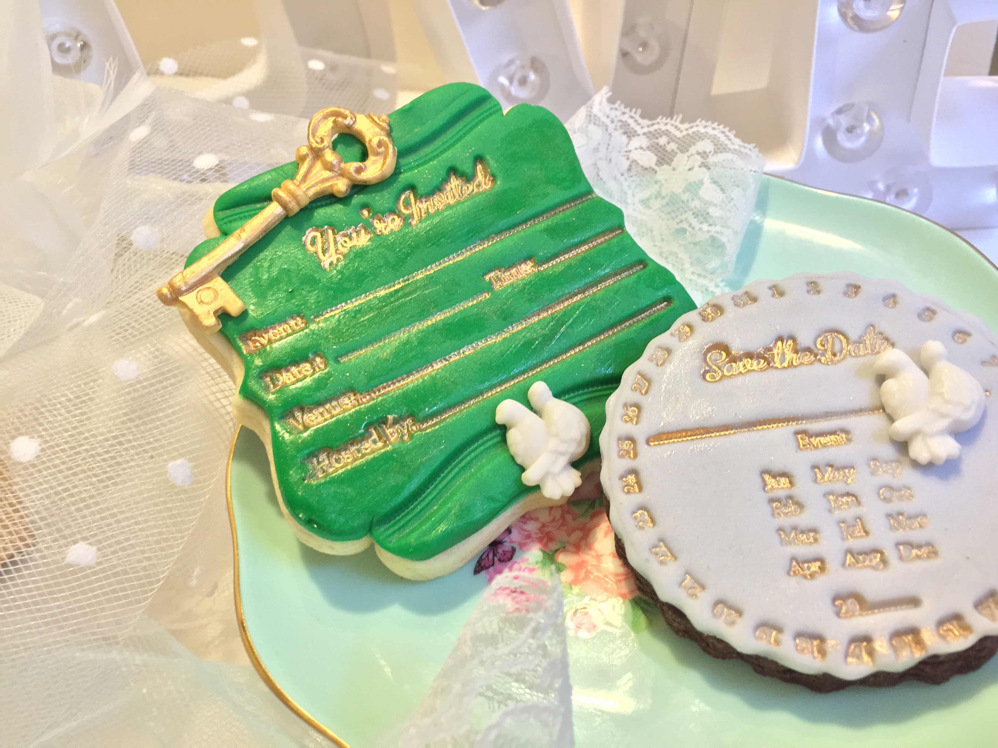 Edible invitations