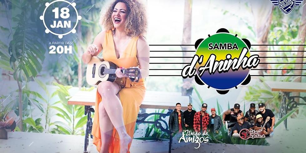 Samba d'Aninha no Grêmio Rio Claro