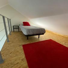 Mezzanine rouge