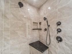 Luxury Pecan Grove Master Shower