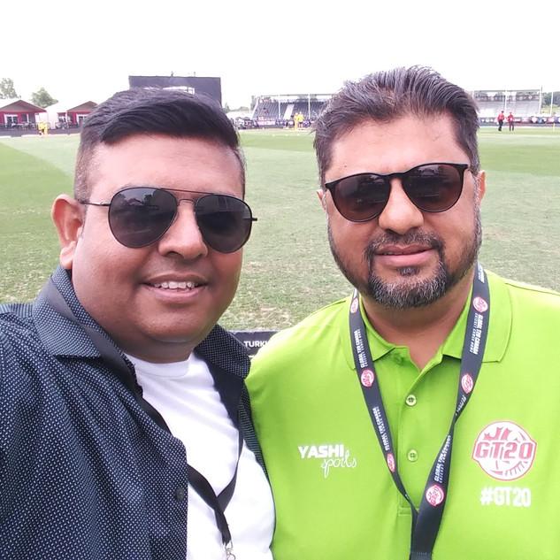 Director Cricket Canada & Gt20 Commentator Muhammad