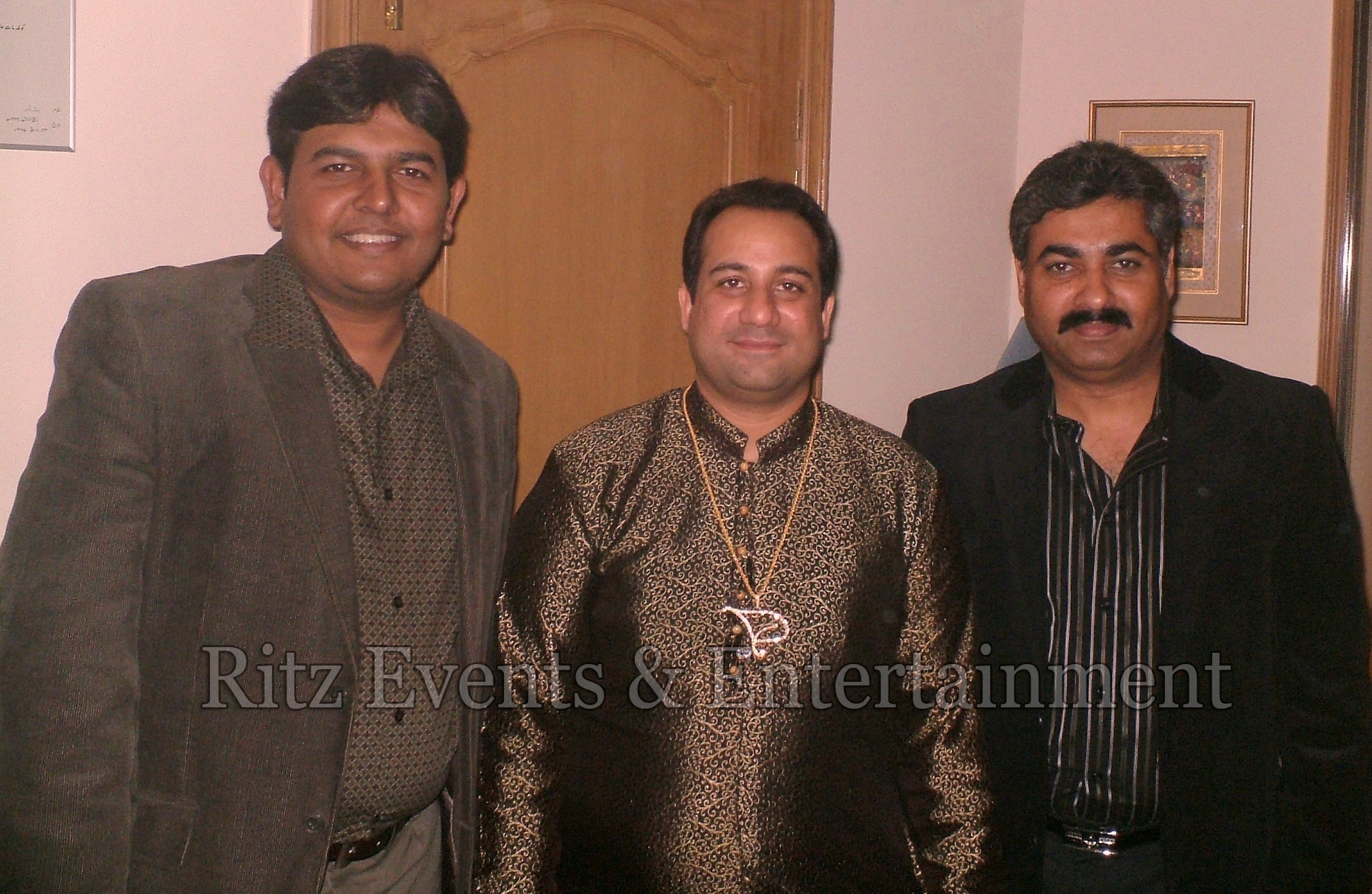 with Rahat Fateh Ali