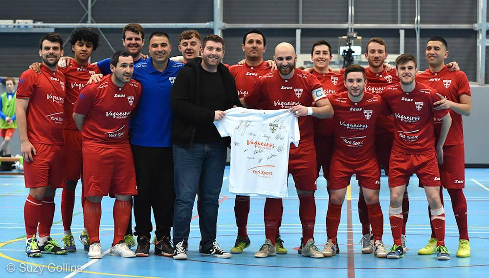 York Futsal v Newcastle