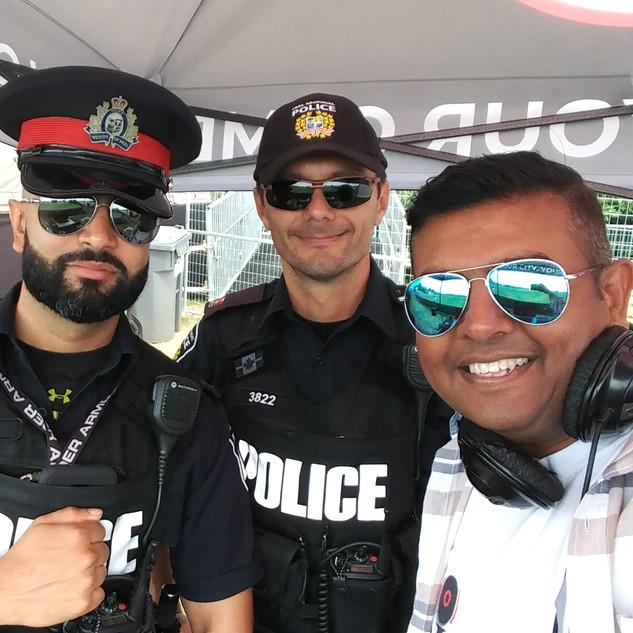 Peel Police officers Gt20 2019