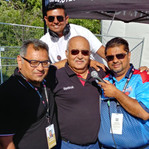 President (Ranjit Saini) & Director (Muhammad) Cricket Canada, CEO Universal Promotions (Amir Shamsi)