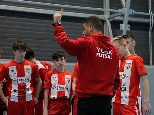 York Futsal 2020/21 - Pre Academy Coaching Block 1