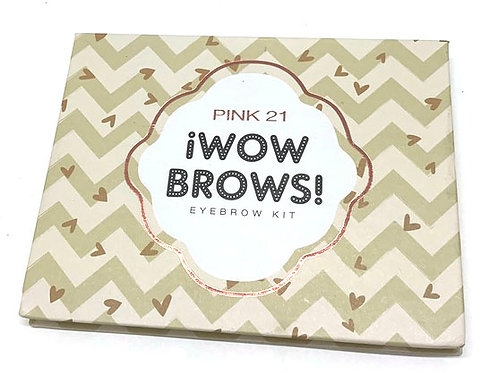 PINK UP 21 ¡WOW BROWS!
