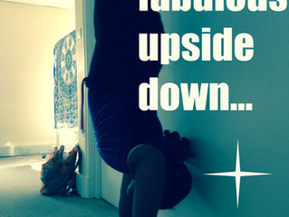 Turning your world upside down #teen #yoga #love these girls!