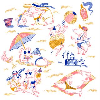 Pigs on Beach Fischer.png