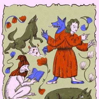 13th century wolves 12x18.jpg